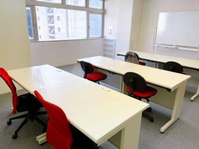 スクール形式 - レンタルスペースupdate新町 レンタルスペースupdateの室内の写真