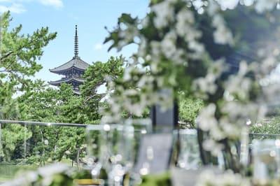 KOTOWA奈良公園 暁(パーティー会場)の室内の写真