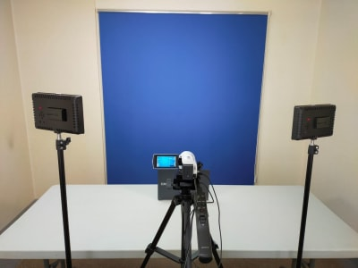 サロンドクライス802 撮影スタジオの室内の写真