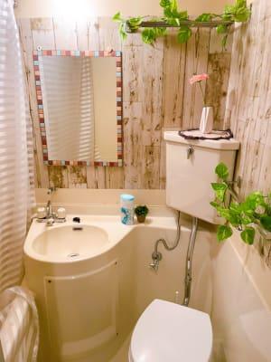 トイレ - レンタルスペースupdate西心 レンタルスペースupdateの室内の写真