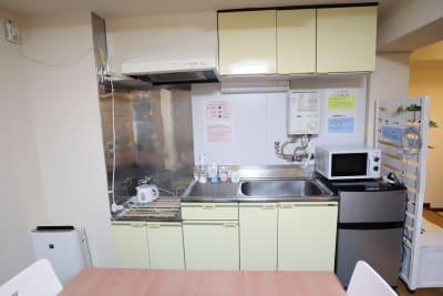 キッチン - おうちWorkSpace武蔵小杉 ワークスペースの室内の写真