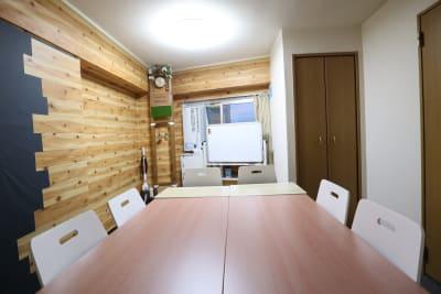 ワークスペース 拡張レイアウト6名 - おうちWorkSpace武蔵小杉 ワークスペースの室内の写真