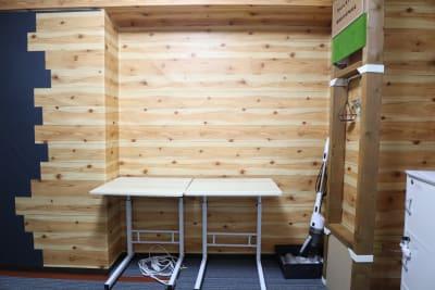 補助テーブル - おうちWorkSpace武蔵小杉 ワークスペースの室内の写真