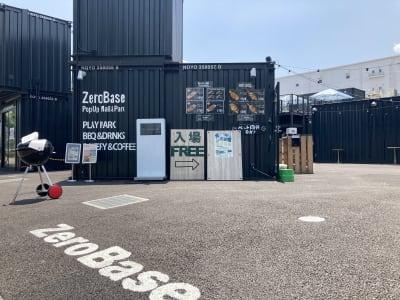 ZeroBase ARIAKE 青空会議室の入口の写真
