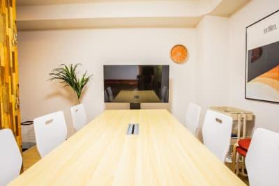 ふれあい貸し会議室 大阪駒川 ふれあい貸し会議室 大阪Fの室内の写真