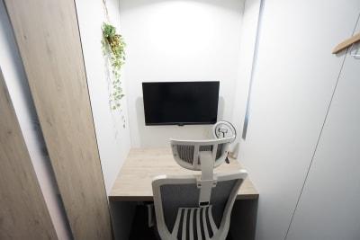 【品川ワークブースPaO】 品川ワークブースPaO Mの室内の写真