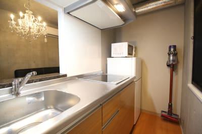レンタルスペース-バロン神楽坂 パーティルーム401の設備の写真