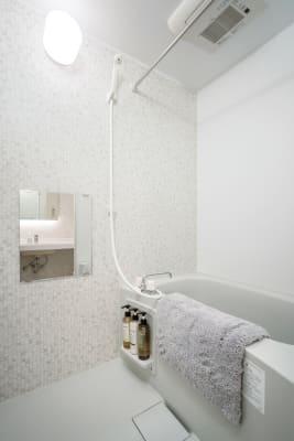 お仕事の後はシャワーでさっぱり♪ - RIKI.FLAT テレワークスペース【101】の設備の写真