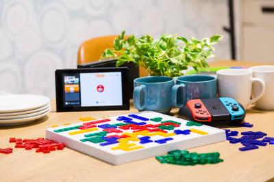話題のボードゲーム「ブロックス」で盛り上がろう! - カジュアルスポット横浜台町 会議・長時間作業に最適の室内の写真