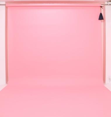 レンタル背景紙 横幅2.7m ピンク - J to J フォトスタジオ レンタルスタジオの設備の写真