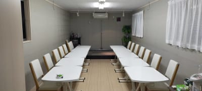 机は自由に移動可能です! - レンタルルーム[シアター] 防音レンタルルームの室内の写真