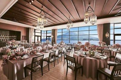 ザ・ベイスイート 桜島テラス 会議利用:テール-Terre-の室内の写真