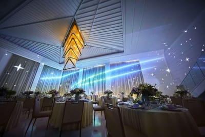 ザ・ベイスイート 桜島テラス 会議利用:メール-Mer-の設備の写真