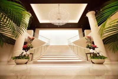 グレイスヒル・オーシャンテラス 会議利用:コーラルの入口の写真