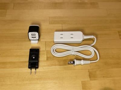 延長コード、コンセントタップ、USBコンセント - LEAD conference 駒込 A-2の設備の写真