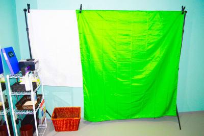 ポートレート撮影にも - 真和スクエア S-Tube Studioの設備の写真