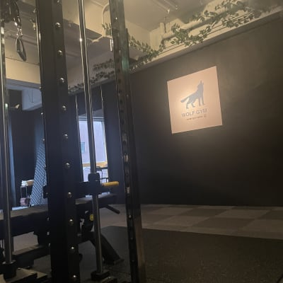 WOLF GYM  レンタルジムの室内の写真