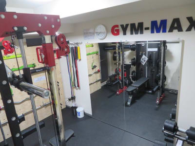 GYM-MAX:ジム内風景 - レンタルジムGYM-MAX レンタルトレーニングジムの室内の写真