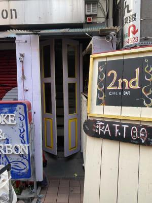 レンタルサロン 魔女部屋 レンタルサロン魔女部屋の入口の写真