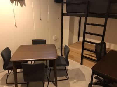 テレワークブース浅草 203の室内の写真