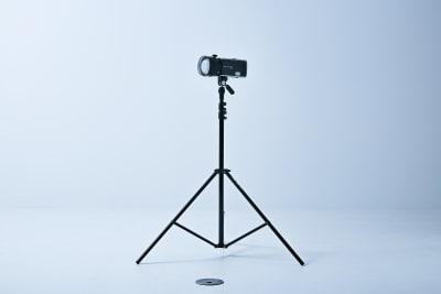 ストロボ2灯が自由に利用できます。 - フォトスタジオ マッシュアップ ラグジュアリーの設備の写真