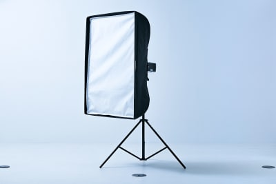 ソフトボックスもプラン内で利用できます。 - フォトスタジオ マッシュアップ ラグジュアリーの設備の写真