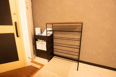 靴箱 - CaReealize会議室 CaReealize京橋会議室の設備の写真