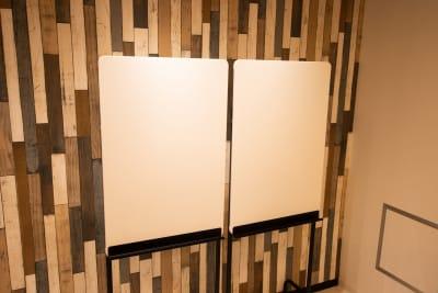 ホワイトボード - CaReealize会議室 CaReealize京橋会議室の設備の写真