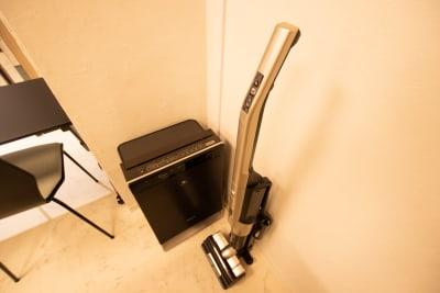 空気清掃機、掃除機完備 - CaReealize会議室 CaReealize京橋会議室の設備の写真