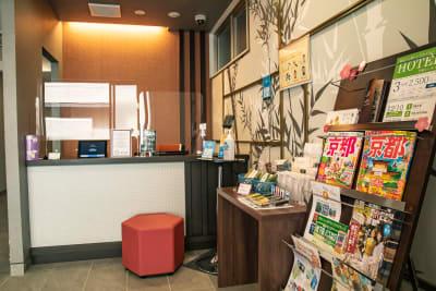 メルディアステイ二条城 会議室、レンタルスペース②の入口の写真