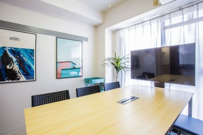 ふれあい貸し会議室 十三マキシム ふれあい貸し会議室 十三Bの室内の写真