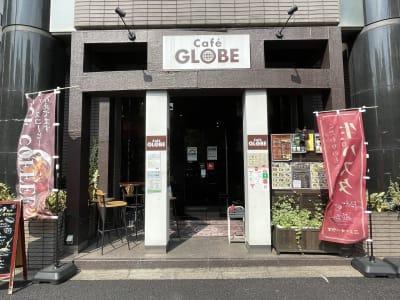 路面店なので分かりやすいです。 - caféGLOBE 貸切フロア、レンタルキッチンの外観の写真
