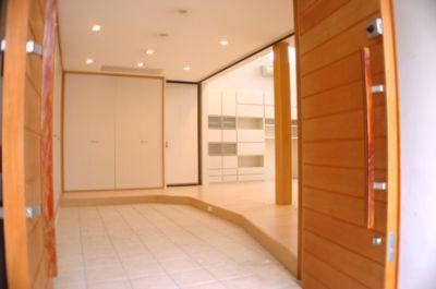 スタジオカサブランカ 一軒家の入口の写真
