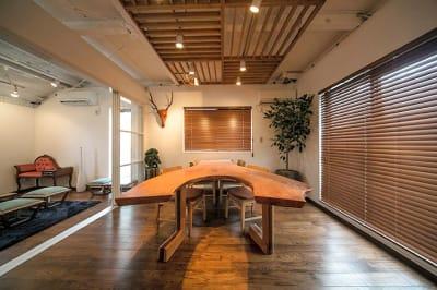 メインフロア - キッチン&オフィス 青山店 青山店の室内の写真