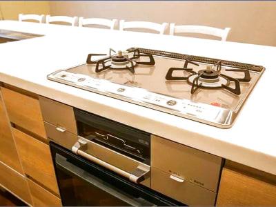 コンロになります。 - キッチン&オフィス 六本木店 六本木店の設備の写真