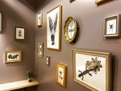 若手アーティスト、yuta okudaのギャラリー - キッチン&オフィス 下北沢店 下北沢店の室内の写真