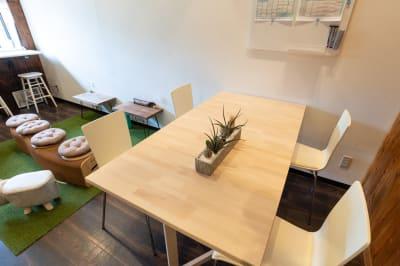 ものづくりや勉強会も! - WEP.creative  イベントスペースの室内の写真