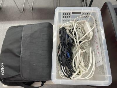 プロジェクター、延長コード - 朝日ビル 5F 貸会議室の設備の写真