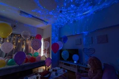 インスタや記念撮影に写真映えしそう♪ - スペースライク FS新大阪 [SpaceLike]フルラの室内の写真