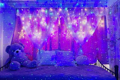 夜はイルミネーションライトで幻想的な時間を♪ - スペースライク FS新大阪 [SpaceLike]フルラの室内の写真