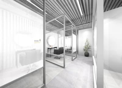 リコ今泉パークサイド サロンスペース モール型の入口の写真