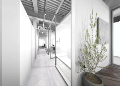 リコ今泉パークサイド サロンスペース モール型 VIPの入口の写真
