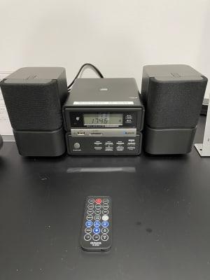 Bluetooth 対応ミニコンポ - レンタルスタジオ@ZUN レンタルスタジオの設備の写真