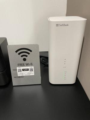 Wi-Fi - レンタルスタジオ@ZUN レンタルスタジオの設備の写真