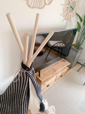 可愛いインテリアがいっぱいです♪ - WITHYOUあたしんち京橋 デザイナーズ【Wityou京橋】の室内の写真