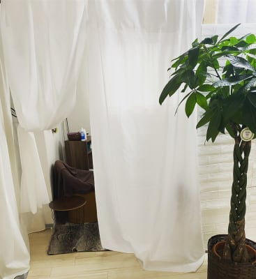 半個室の入り口 - ハト薬局 michihiraki  の室内の写真
