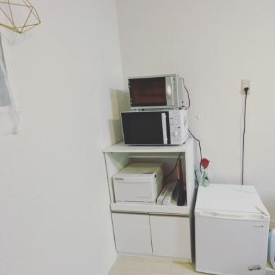 紫外線消毒機・レンジ・ホットキャビン・冷蔵庫 - ハト薬局 michihiraki  の設備の写真