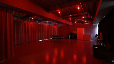 室内のライトは 調光調色が可能で、どんな色味にもできます。 - studio akegure 営利・商用利用 撮影スタジオの室内の写真
