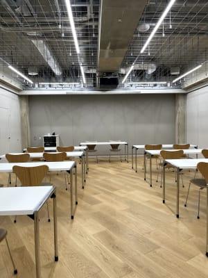 セミナールーム1 パーテーションで部屋を区切っています。 - ルーフラッグ賃貸住宅未来展示場 3階セミナールーム①の室内の写真