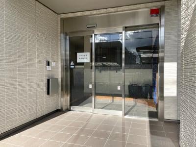 カードキーでの玄関開閉です。 - べレオ和歌山駅東 貸し会議室・多目的スペースの入口の写真